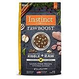 Instinct Raw Receta Boost sin Grano Natural seco Perro Alimentos por la Naturaleza de la Variedad