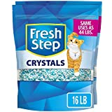 Fresh Step Crystals, arena para gatos premium, perfumado, 16 libras (el paquete puede variar).