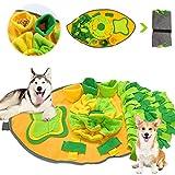 Huahuanghui Alfombra para Perros,Juegos para Perros y Rompecabezas,Juguetes interactivos para Perros,Dog Dog Puzzle,Estera de Entrenamiento,Alfombrilla de alimentación,Olfatear Mascotas