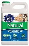 Gato del Orgullo 01320scoopable Cat Litter jarra, Natural, 2-case