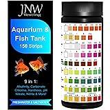 JNW Direct - Tiras de Prueba de Acuario 7 en 1, el Mejor Kit para Pruebas precisas de Calidad del Agua Salada y Dulce y estanques de Peces, aplicación Gratuita y Libro electrónico Incluido