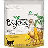Beyond - Pienso para Gato Rico en Pollo con Cebada Integral, 8 Bolsas de 350 g