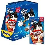 Purina Felix Party Mix Grill Snacks, golosinas y chuches para gato 8 x 60 g