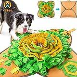 AWOOF Esterilla de alimentación para Mascotas, Duradera e Indestructible, Juguete Interactivo para Perros, fomenta Las Habilidades Naturales de forraje