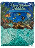 Pure Water Pebbles Aquarium Gravel, 5-Pound, Turquoise by Pure Water Pebbles