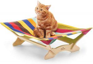 Hamaca para gatos CATONEER (Genial diseño y fácil limpieza) 2