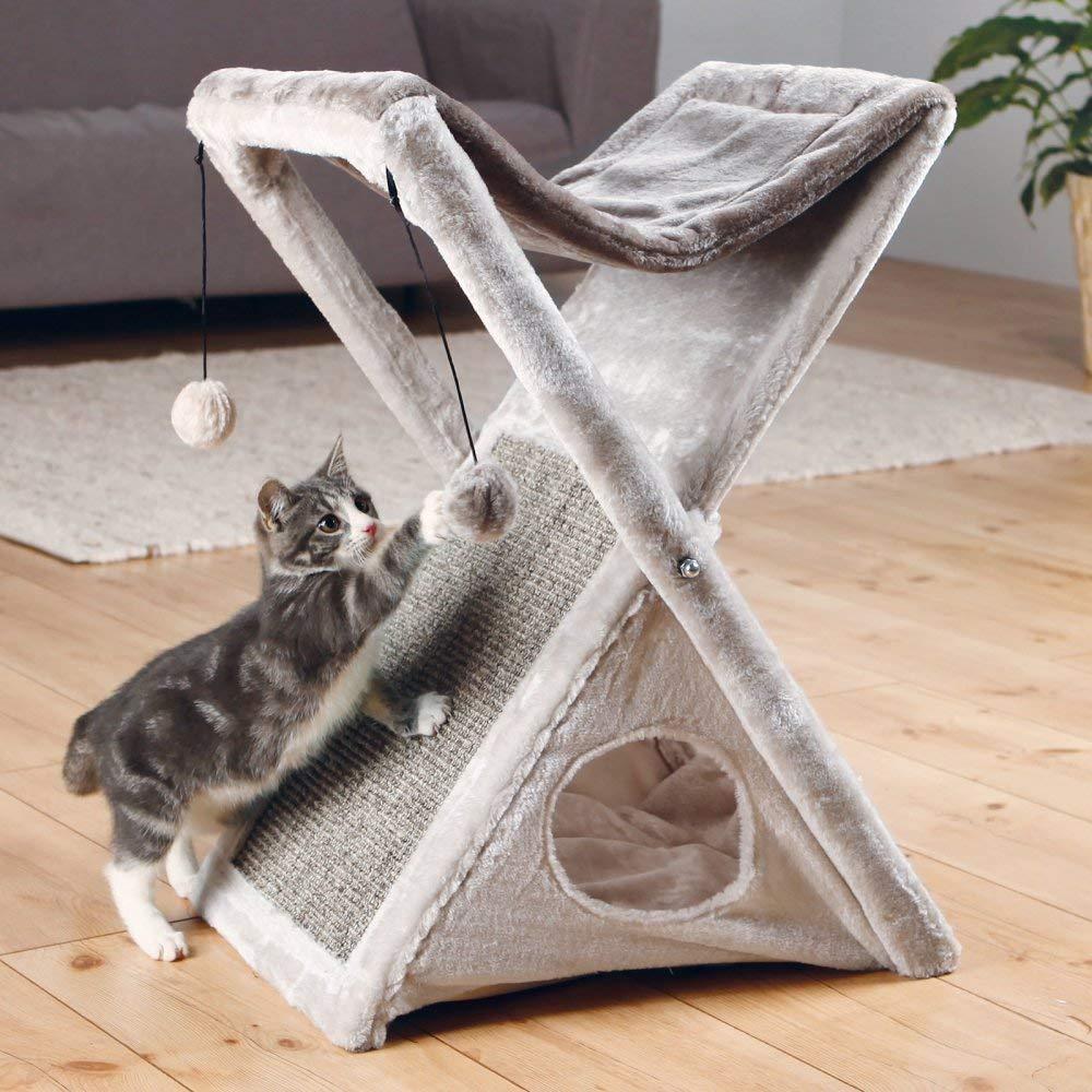 Torre para gato para plegar y guardar Miguel de Trixie