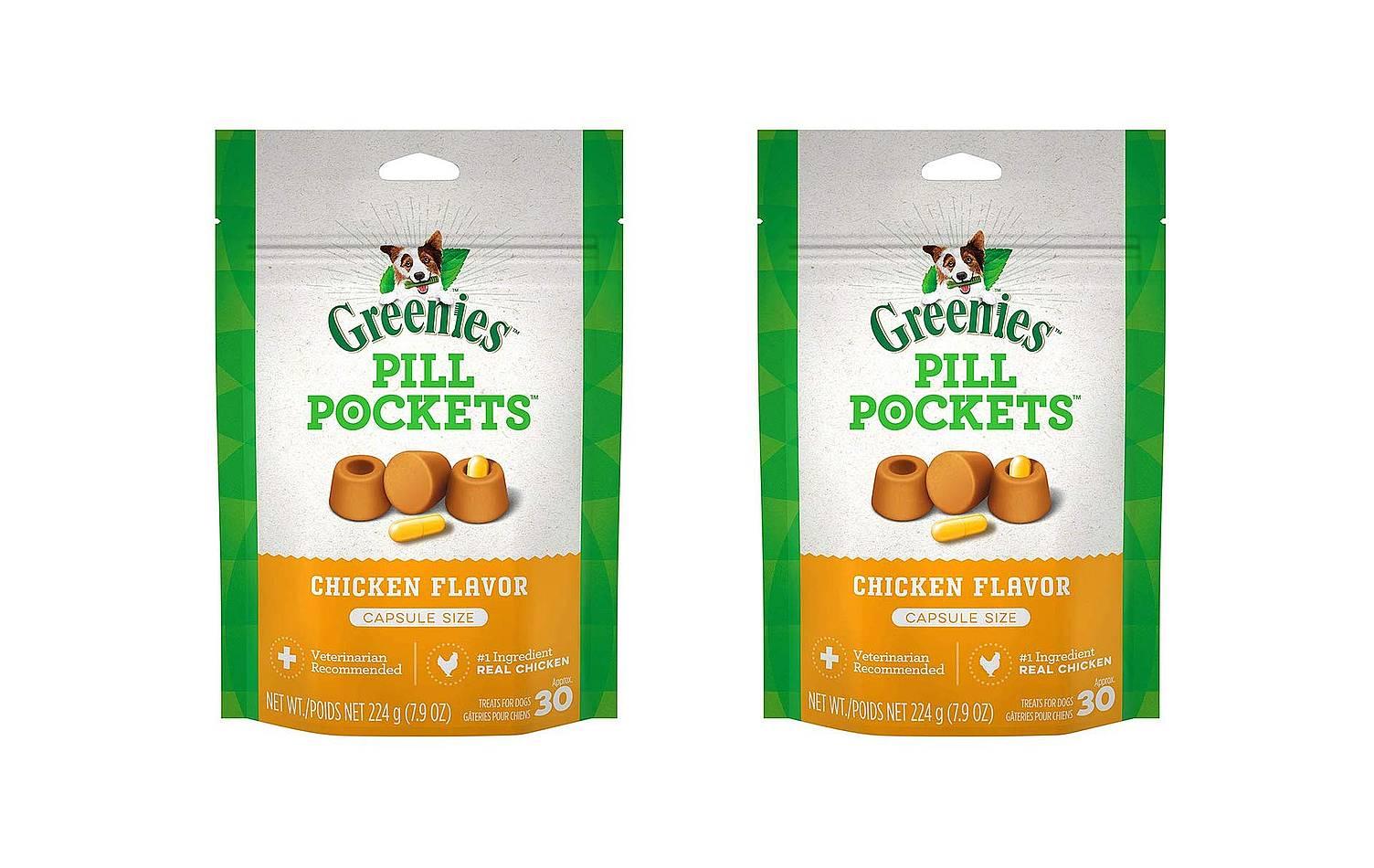 Golosinas para perros para cápsula Greenies