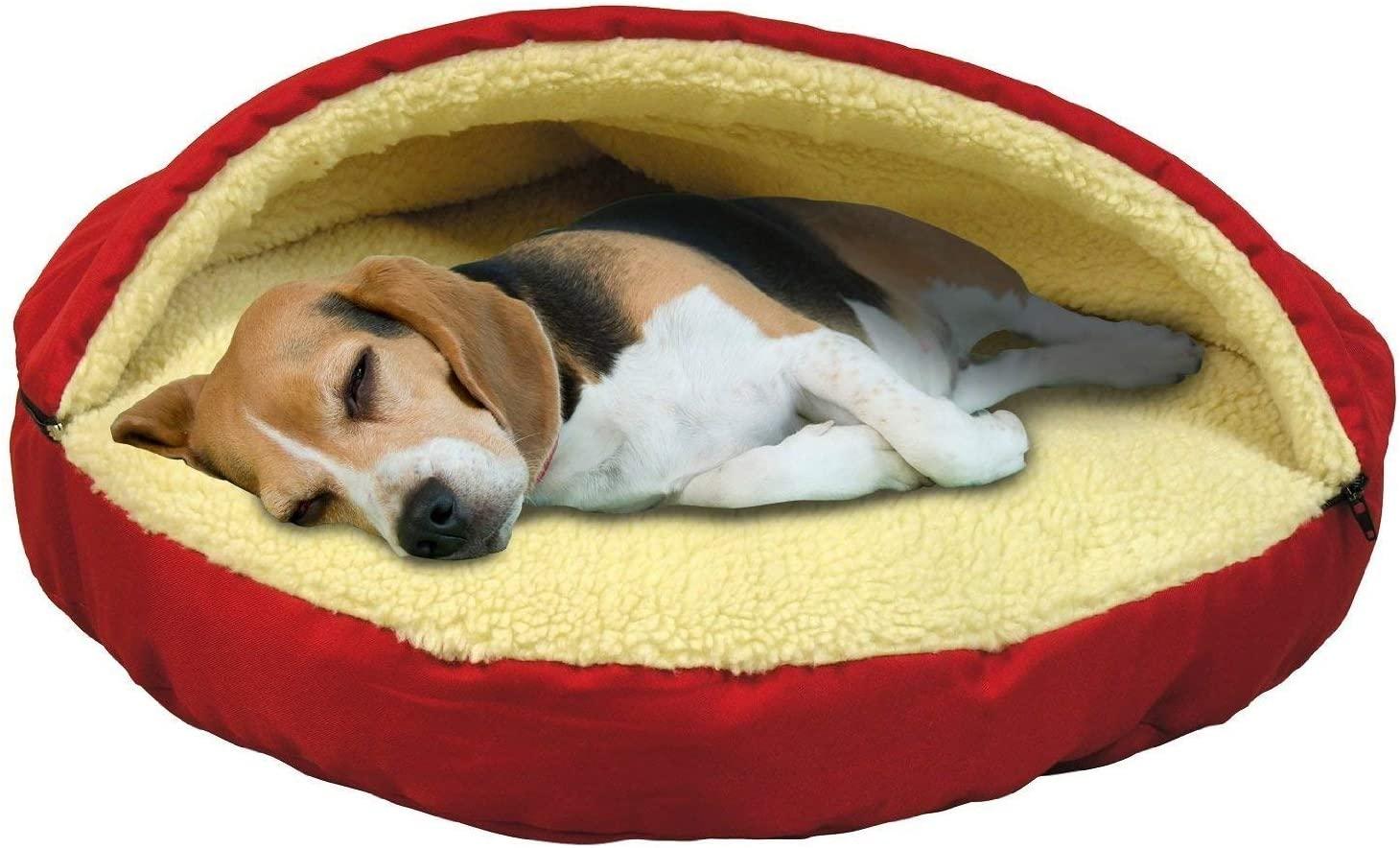 Las mejores camas cueva para perros [year] (análisis) 1