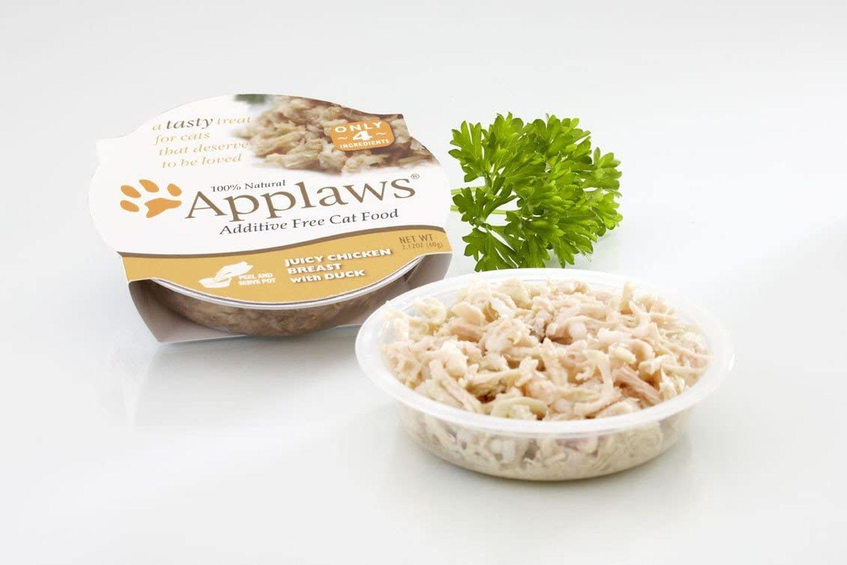 Análisis de la comida para gatos de Applaws 1