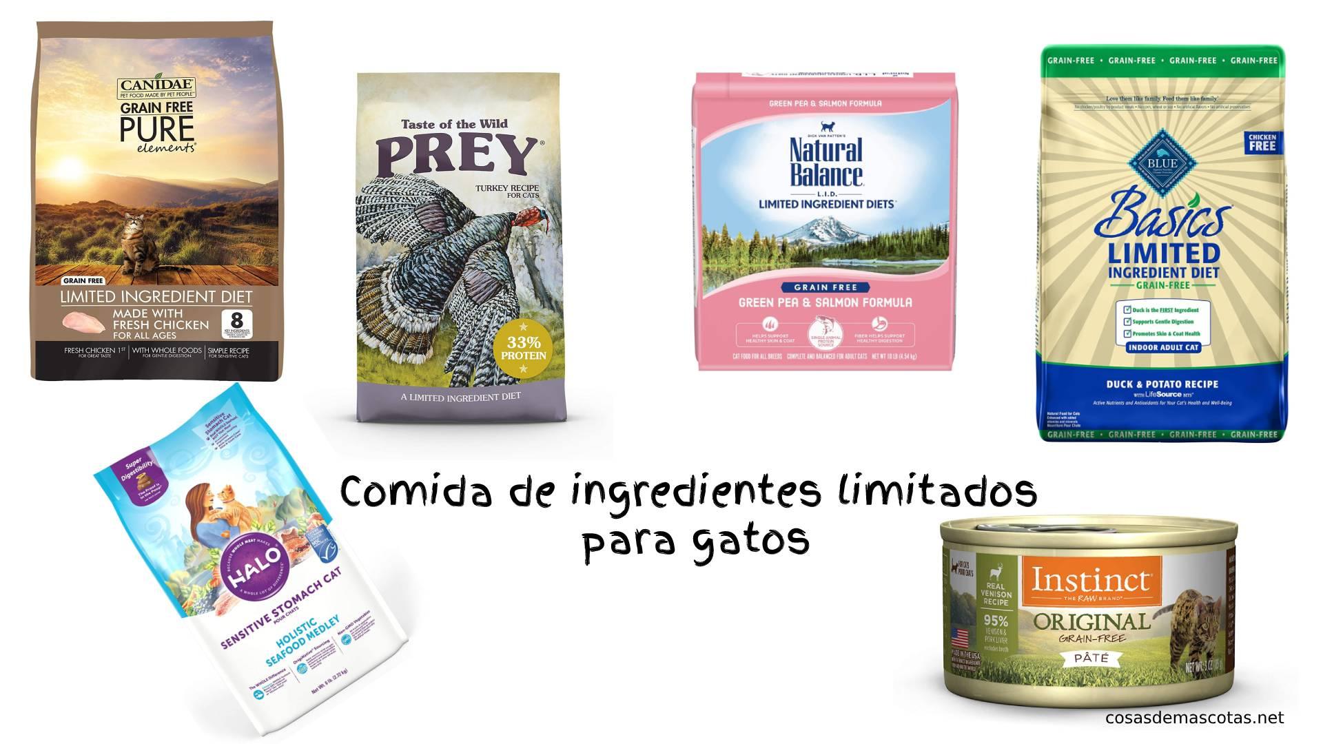 Mejor comida de ingredientes limitados para gatos [year] (análisis) 1