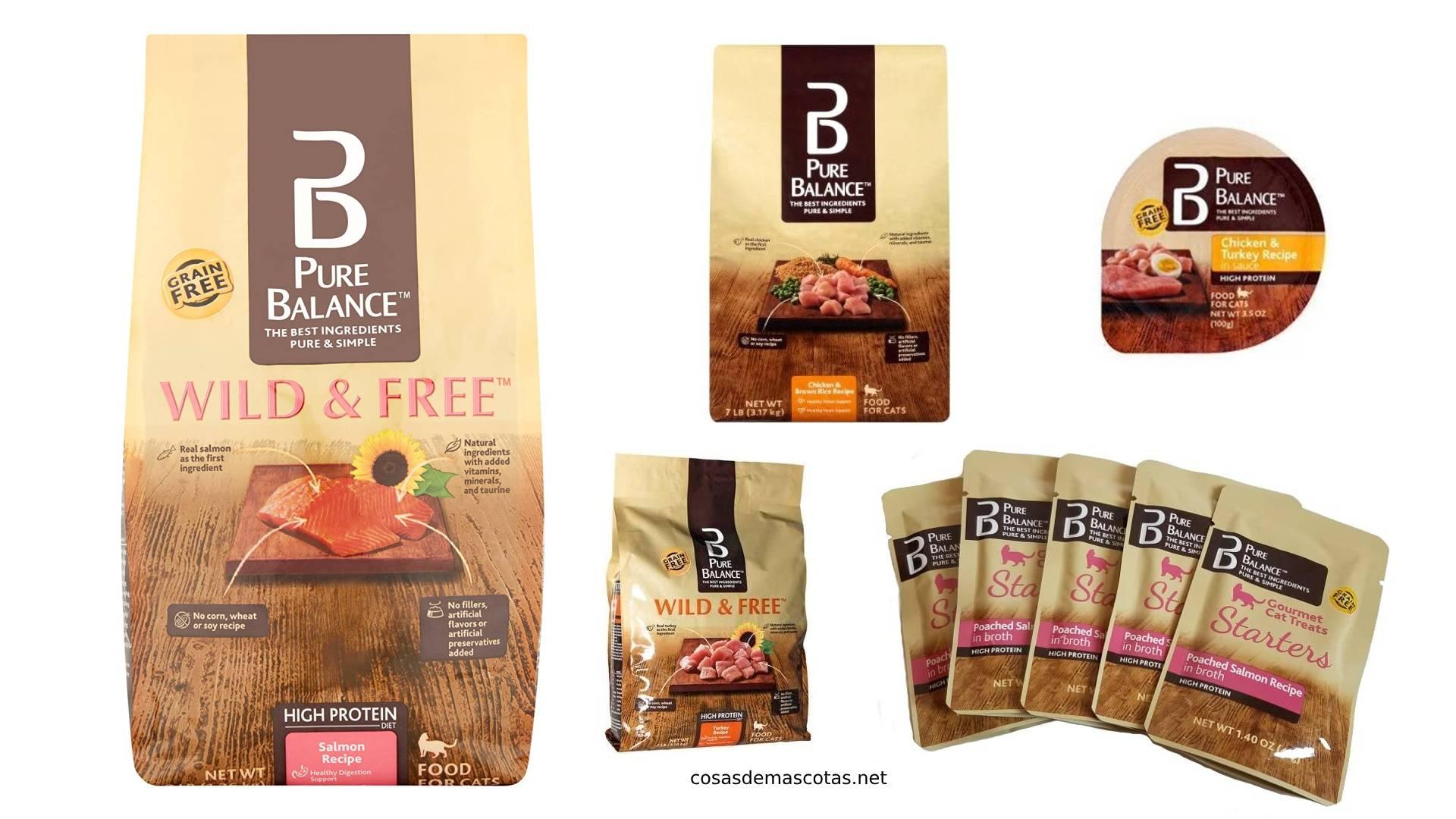Análisis de la comida para gatos Pure Balance 1