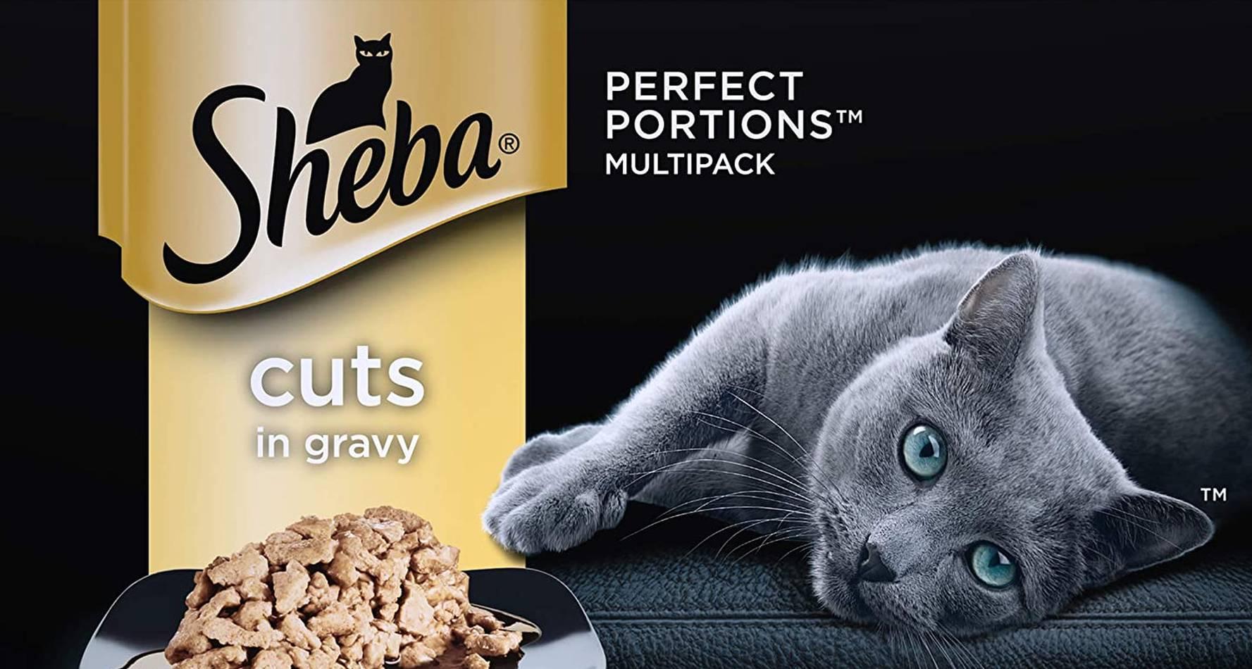 Análisis de la comida para gatos Sheba 1