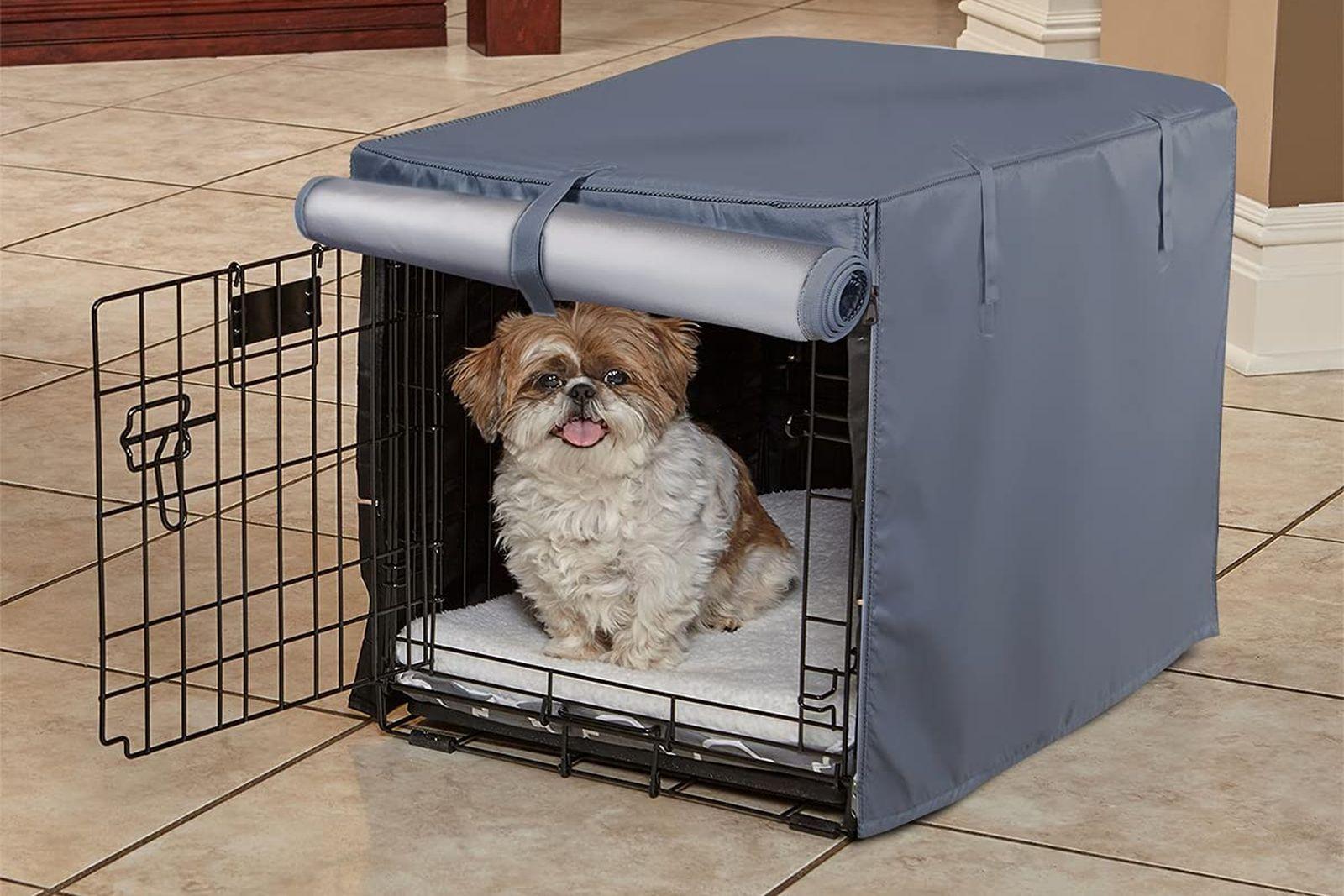 cubiertas para jaulas de perros - fundas para jaulas de perros