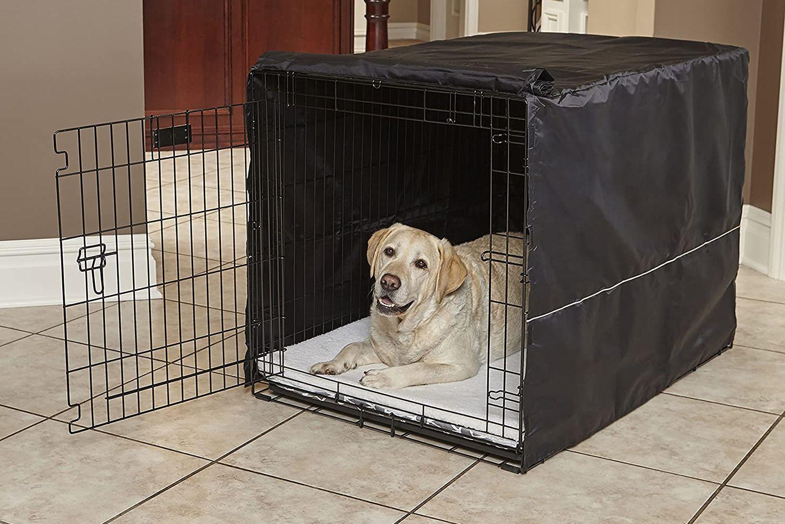 cubiertas fundas para jaulas de perros